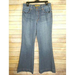 Seven7 Premium Denim Sexy Flare High Waisted Jeans